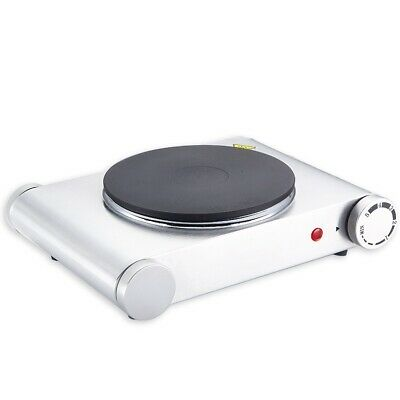 Hot Plate 1500W Single Electric Table Top Cooker Hob Portable