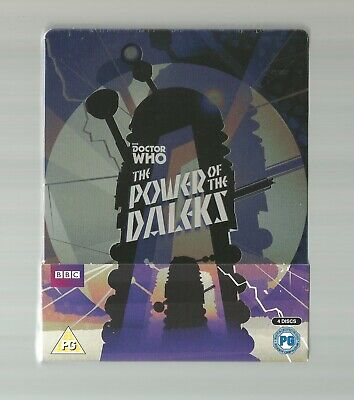 Doctor Who : The Power Of The Daleks - Uk Exclusive Blu Ray Steelbook - New