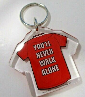 Official Liverpool You`ll Never Walk Alone Keyring
