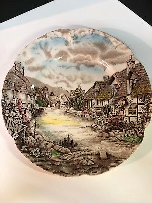 Johnson Brothers England Olde English Countryside Salad/bread Plate