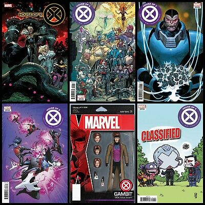 House Of X #6 *2019* Preorder 10/2 - Six Cover Variant Set!
