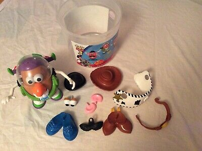 Disney Exclusive Toy Story 3 Mr Potato Head Inc Buzz And Woody Outfits VGC