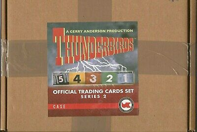 Thunderbirds Series 2 Unstoppable Cards Case Of 10 Factory Sealed Boxes Itc Tv21