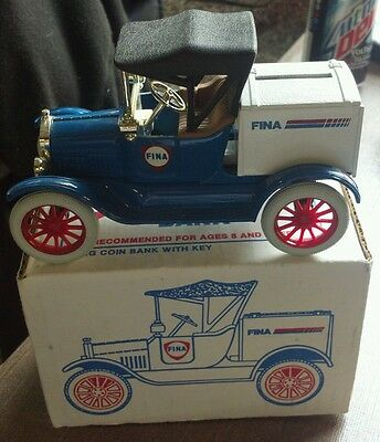 Ertl FINA 1918 Runabout Bank Diecast Model