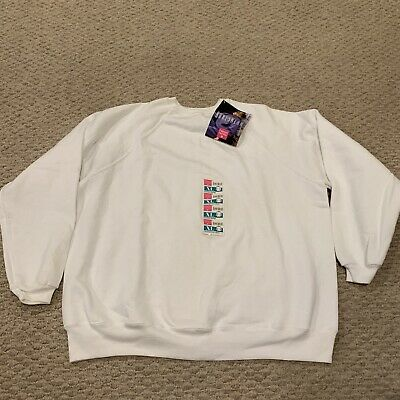 Hanes Her Way Raglan Crewneck Sweatshirt Deadstock New NWT 50/50 Women's XL