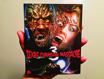 Night Killer / Texas Chainsaw Massacre 3 Blu-ray with Slipcover Texas Frightmare