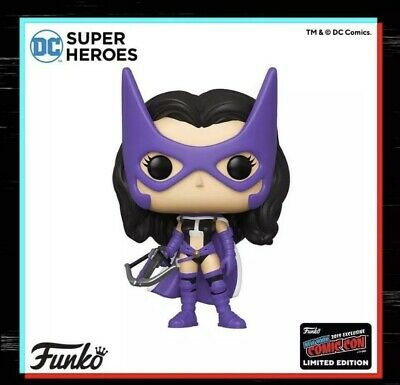 Funko Pop  Huntress - Dc Super Heroes Figure Nycc 2019 Shared Exclusive Preorder