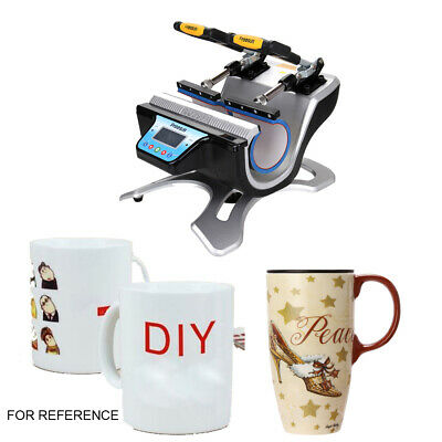 ST-210 Automatic Double Station Mug Heat Press Sublimation Cups Printing machine