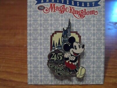 Mickey Mouse WDW The Magic Kingdom 40th Anniversary Disney Pin NEW - BUY NOW!