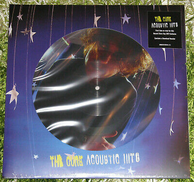 The Cure Acoustic Hits Doppel LP Vinyl Picture Disc RSD 2017 Record Store Day