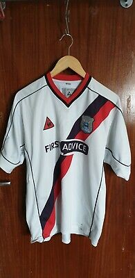 Man City retro 90s first advice away football shirt size XL (46-48in chest)