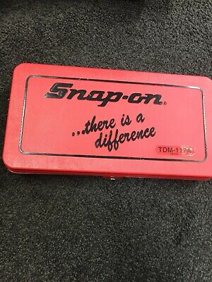 Snap On Tools 41 Piece Metric Tap and Die set TDM-117A Brand New Ace Engi