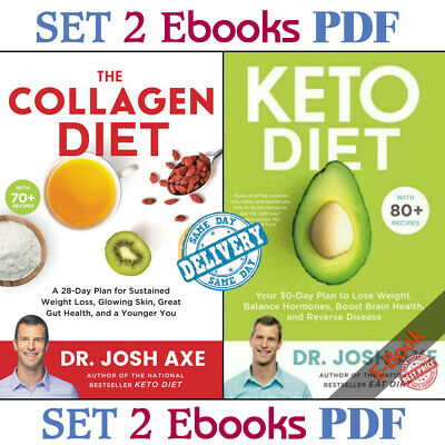 Keto Diet: Your 30-Day Plan to Lose Weight by Josh Axe - P.D.F - FAST DELIVERY