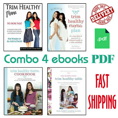 Trim Healthy Mama Cookbook & Plan - FAST DELIVERY Via Email - (2 P.D.F)