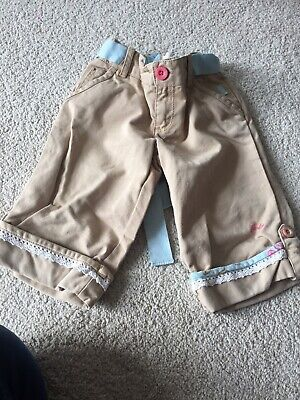 Gorgeous Cute Joules Girls Cropped Trousers/long Shorts 5 Years