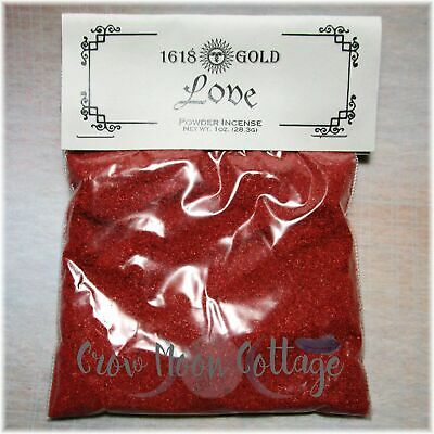 Love Match Light Powder Incense ~ 1oz Bag Wicca Witch Spell Supply