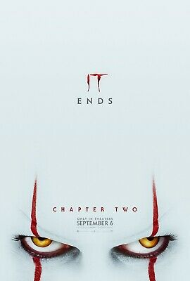 Movie Poster - IT Chapter Two (A4 and A3)