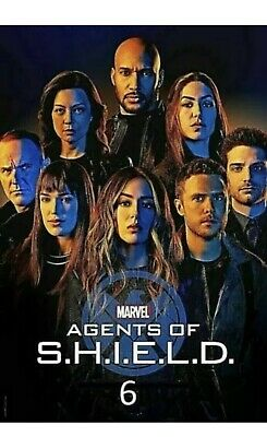 Agents of S.H.I.E.L.D. SHIELD Season 6 SIX (DVD,3-Disc)  USA SELLER REGION 1