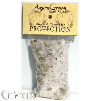 Protection Blend Herbal Infused Sea Salt Bath Salts Wicca Witch Spell Supply
