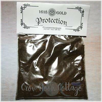 Protection Match Light Powder Incense ~ 1oz Bag Wicca Witch Spell Supply