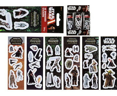 Planche 6 Stickers Star Wars 3D Collection Officielle Disney