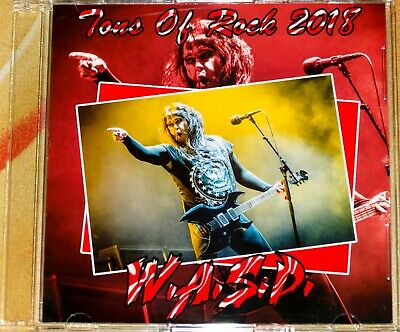 W.A.S.P. WASP Tons Of Rock Festival Norway 2018 DVD Kiss King Diamond Skid Row