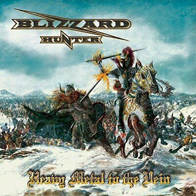 Blizzard Hunter-Heavy Metal To The Vein Cd New