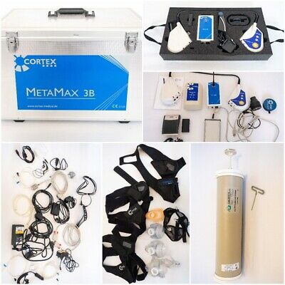 Complete Cortex Metamax 3B Mobile Spiroergometry Device With Accessories - Used