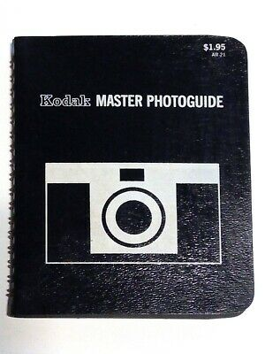 Kodak Master Photoguide - 1968 - Vintage Pocket Guide to Film Photography