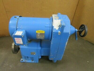 Nord Sk32-R210U-184Tc Variable Speed Gear Reducer W/ Motor 15:03:1 Ratio 5Hp