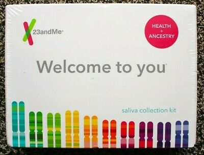 23andMe Health and Ancestry Saliva Collection Kit - Lab Fee Included - EXP 2021