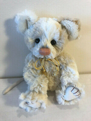 Retired Charlie Bear ~DOC MOUSE~ MINI Mouse-HUGS, Cute Collectable Opportunity!