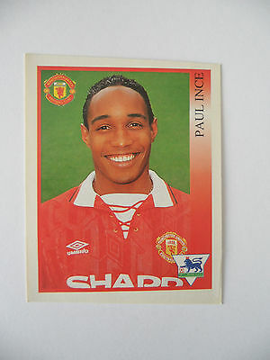 Paul Ince Manchester United Merlin Premier League 1994 Football Sticker #199