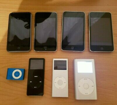 Apple iPod MP3 Music Bundle - Touch Nano Shuffle Mini Etc