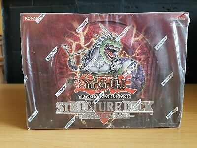 Yu-Gi-Oh! Structure Deck SD09 Dinosaur's Rage 1st Edition Case of 8 Factory Seal