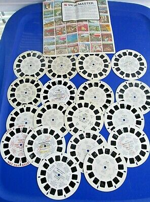 Lot of 18 Vintage View Master Reels Plus Advertising Mailer Mexico USA Travel ++
