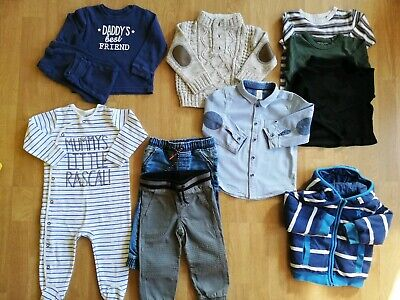 Bundle of baby boy's clothes, 12-18 months, H&M, Next