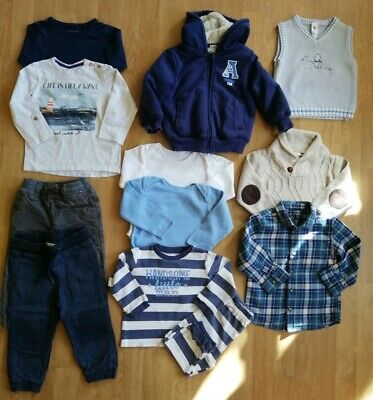 Bundle of baby boy's clothes, 12-18 months, Next, H&M, Primark