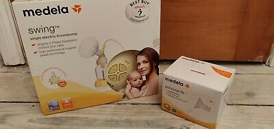 Medela swing single electric breast pump, good condition, bottle never used