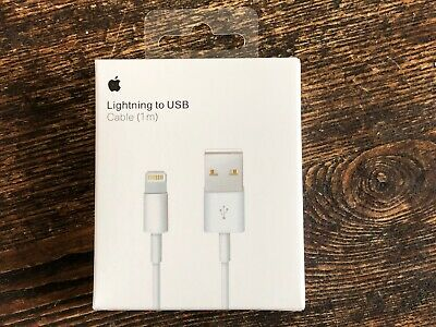 NEW OEM Genuine Original Apple Lightning to USB Cable Charger MD818ZM/A Cord