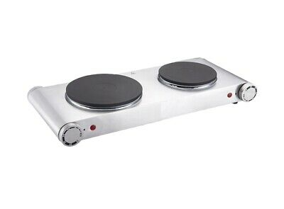 Hot Plate 2000W Double Electric Cooker Hob Table Top Portable