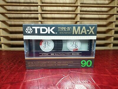 Tdk Ma-X 90 : 1986 : Made In Japan : New & Sealed