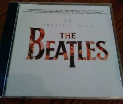 The Beatles 20 Greatest Hits Stereo Cd, U.K. Version.