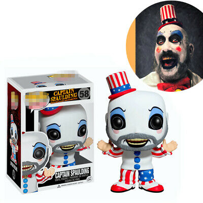 Funko pop Movies: Captain Spaulding 58 Action Vinyl Figure Anime Model Pvc Toys