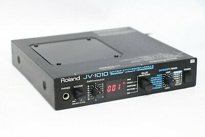 Roland JV-1010 JV 1010 64 Voice Synthesizer Module MIDI GM Sounds From Japan