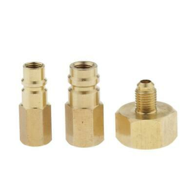 R-134a 1/4inch Adapter Kit Solid Brass High-quality for Car Air conditioning