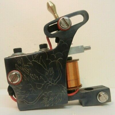 Ryan Smith Tattoo Machine - One Off Engraved Liner
