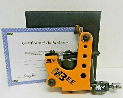micky bee tattoo machine insignia bee sting liner * mint condition * NOT SHARPZ