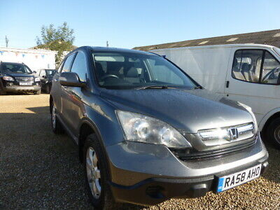 2009 (58) Honda CRV SE Plus CTDi Estate 6 speed silver damage repairable