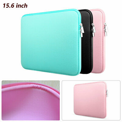 "15.6"" Notebook Cover Sleeve Soft Computer Pouch Laptop Case Bag Scratch-proof"